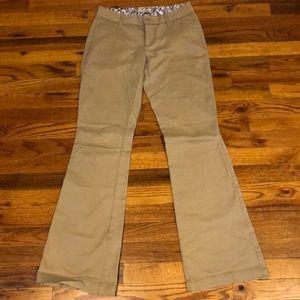 Arizona Jean Co khaki pants. Size 1.